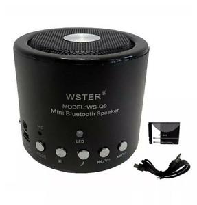 MINI SPEAKER CASSA AMPLIFICATA RADIO FM LETTORE MP3 USB AUX SD BLUETOOTH NEW