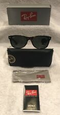 NEW Authentic Ray Ban RB2132 New Wayfarer 902L 55mm Tortoise/Havana/Green