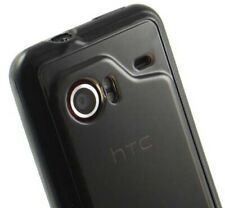 DARK SMOKE FLEXIBLE TPU CANDY SKIN CASE COVER FOR HTC DROID INCREDIBLE ADR6300