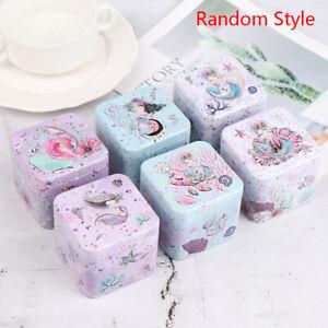 Mini Tin Box Gift Jewelry Cookie Candy Tea Storage Tinplate Box Organizer Ca_BI