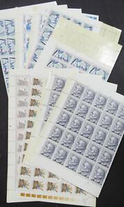 EDW1949SELL : CZECH Clean, all VF MNH of sheets & part sheets from 1980's-90's