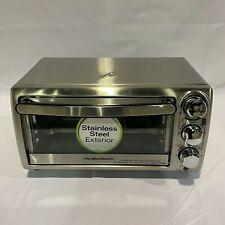 Hamilton Beach 4-Slice Countertop Toaster Oven, Stainless Steel 31143
