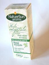 NatureSun Aroms - Huile Végétale Rose Musquée Bio - 50 ml