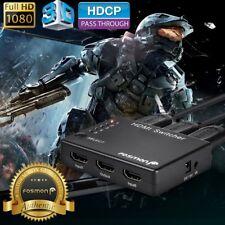 5x1 Port HDTV HDMI Switch Selector Hub Box Splitter 1080p 3D HDCP 1.1 IR Remote