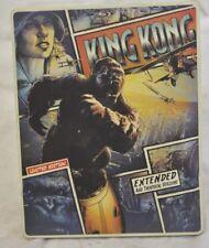 King Kong (Blu-ray, DVD, Limited Edition Steelbook) Used Good