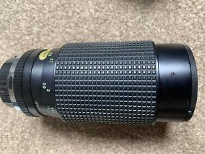 TOKINA SMZ520 50-200mm OLYMPUS OM MOUNT ZOOM LENS