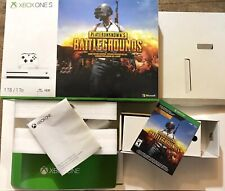 BOX ONLY! Microsoft Xbox One S 1TB Playerunknowns Battlegrounds PUBG BOX ONLY!