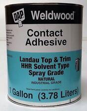 DAP Weldwood Contact Cement Gallon HHR Industrial Grade Landau Top & Trim