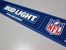NEW Bud Light NFL Football Beer Rubber Bar Spill Mat Drip Budweiser Matt Pub