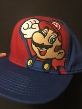 Super Mario Bros Adjustable Snapback Cap Hat