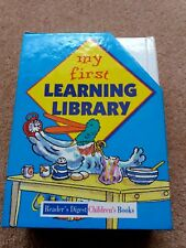 Childrens Books (My First Learning Library - Readers Digest)