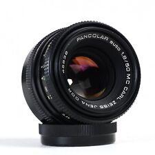 ^ Carl Zeiss Jena Pancolar Auto 50mm 1.8 MC Prime Lens M42 [EX++]