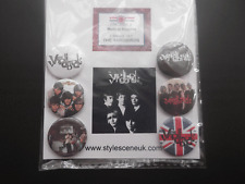 Mod: The Yardbirds band 25mm Button Badge Set