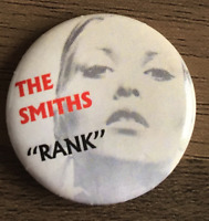 THE SMITHS Rank  - Button Badge - UK Rock Band - How Soon Is Now?  25mm Pin