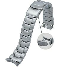 316L Solid Stainless Steel Watch Band 22MM Made to Fit Orient Mako and Ray Watch