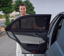 Zone Tech 2x Slip On Stretchable Mesh Side Window Car Sunshade UV Ray Protection