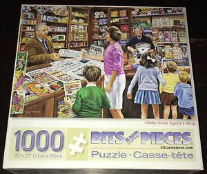 Bits & Pieces 1960'S NEWS AGENT SHOP Trevor Mitchell 1000 Piece Jigsaw Puzzle
