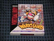 ! 100% NEW ! Nintendo 3D VB Virtual Boy Wario Land JAPAN VR FREE AIR SHIP F/S