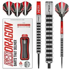 Tungsten Darts Set 22gram,24grams Javelin Black Ringed Barrels, Flights & Stems
