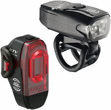 Lezyne KTV Drive Headlight and KTV Pro Smart Taillight Set: Black