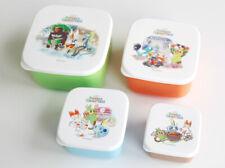 Pokemon Center Original Lunch Box 4 Pieces Set Pokémon GalarTabi Microwaveable