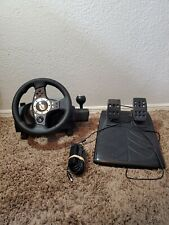 Logitech Driving Force Pro Force Feedback Racing Wheel Pedals Playstation PS2&3