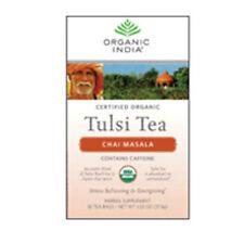 Organic Tulsi Tea Chai Masala 18 ct by Organic India