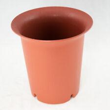 """Round Cascade Plastic Bonsai, Succulent Pot & Orchid Planter 7.75""""x 7.75""""x 8"""""""