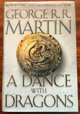 A Song of Ice and Fire A Dance with Dragons George R. R. Martin 1st Edition HCDJ