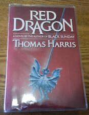 """1981 """"Red Dragon"""" signed by Thomas Harris 1st Edition ADVANCED READING COPY book"""