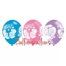 Shimmer and Shine 6 Latex Balloons Birthday Party Decorations Air Helium