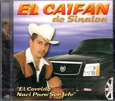 El Caifan de Sinaloa El Corido Naci Para Ser jefe CD New Nuevo Sealed