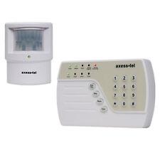 Haus Alarmanlage Funk Alarmsystem GSM SMS Sicherheit Set AG50 Axess Neu