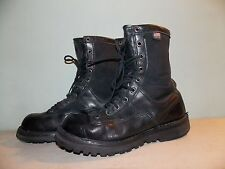 19990's Black Leather Gore-Tex Boots By Danner Women's Size 9 USA Made Used