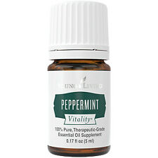 PEPPERMINT 5ml Vitality Food Grade Young Livingn Essential Oil