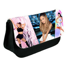 Ariana Grande, Canvas Black Pencil Case, Make-Up Bag