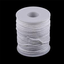Spool of Cotton White Braid Kerze Dochte Kernkerze Making Supplies Ta_ RA