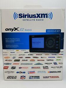 SiriusXM XEZ1V1 Onyx EZ Satellite Radio with Vehicle Kit - Black NEW SEALED