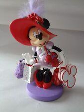 Disney Hamilton Coll Minnie's Hats Over Heels Shopping w/Hattitude Figurine wCOA