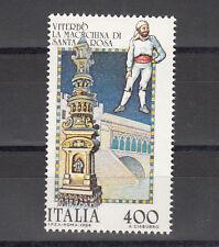 ITALIA REPUBBLICA FOLCLORE 1 v. 1984 MACCHINA DI SANTA ROSA VITERBO L. 400 MNH**