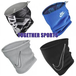 NIKE NECK WARMER THERMAL FLEECE SNOOD DRI-FIT REVERSIBLE ADULTS YOUTH UNISEX