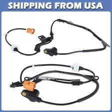 2x For Honda Accord 1998-2002 Front Left Right ABS Wheel Speed Sensor ALS1017