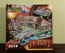 Wrebbit Hobbiton  LORD OF THE RINGS 3D Puzzle 363 pieces RARE (New in Box)