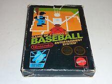 baseball nes game pal A nintendo cib black box mattel