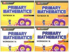 Primary Mathematics Grade 1 Kit( Common Core ED)-Workbooks 1A+1B,Textbooks 1A+1B