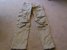 Mens gstar Beige Combat Trousers - Size 28/32