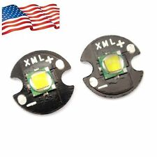 for DIY White Single-Die XM-L T6 LED 10W High Power Chip 16mm Round Base Cree US