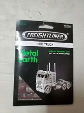 Fascinations Metal Earth Freightliner COE TRUCK Big Rig Steel 3D Model Kit New