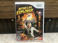 Active Life: Explorer (Nintendo Wii, 2010) TESTED NO MANUAL