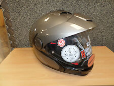 Crossover Modular Helm NOLAN N40 Full Classic in grau, Gr. M